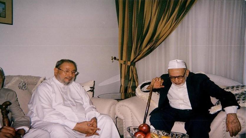 مع الدكتور عبد الكريم زيدان رحمه الله