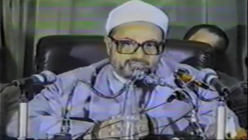 في مناظرة الإسلام والعلمانية بنقابة الأطباء بالقاهرة عام 1985