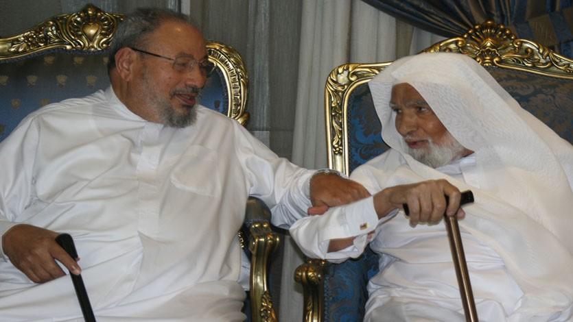 مع الصديق الدكتور عبد العظيم الديب رحمه الله