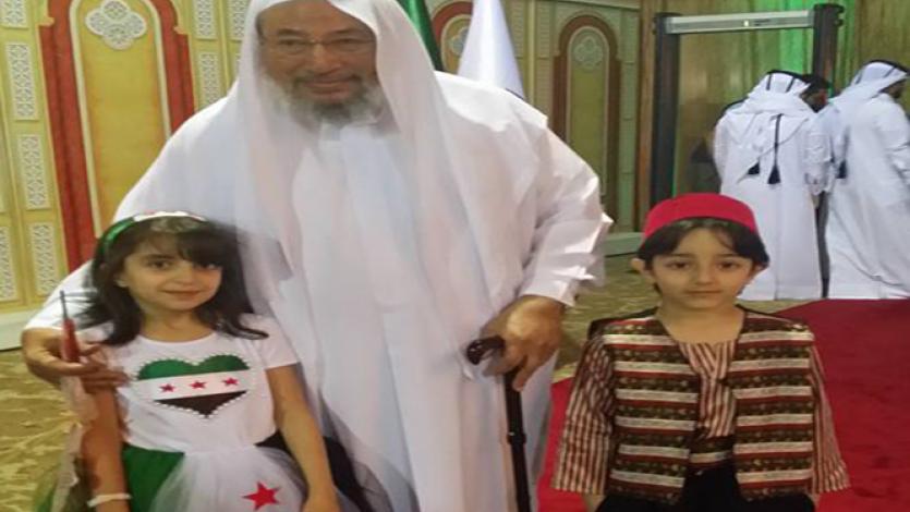 في حفل الذكرى الخامسة للثورة السورية (الدوحة)