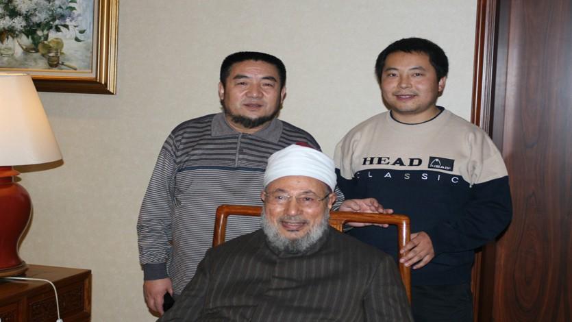 مع أخوين مسلمين من آسيا