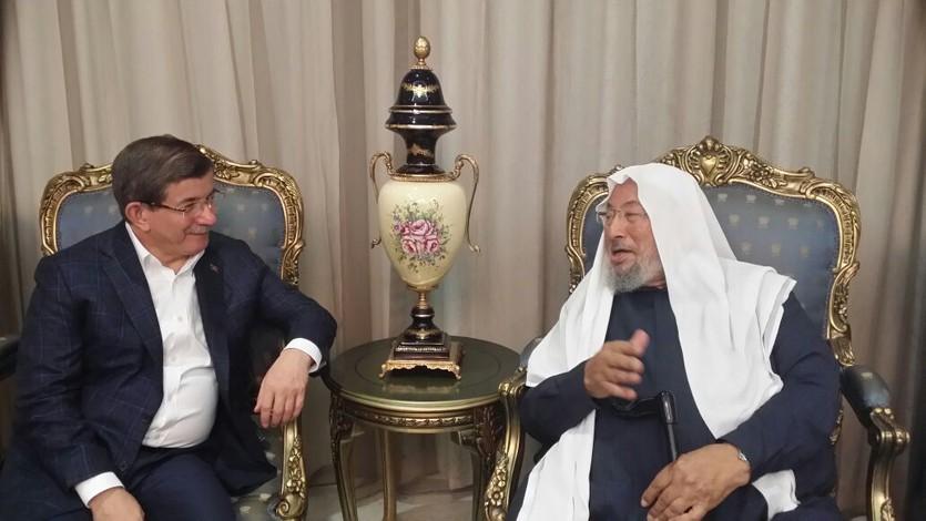 مع السيد أحمد داود أوغلو رئيس الوزراء التركي السابق