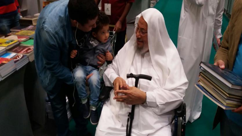 في معرض الدوحة الدولي للكتاب