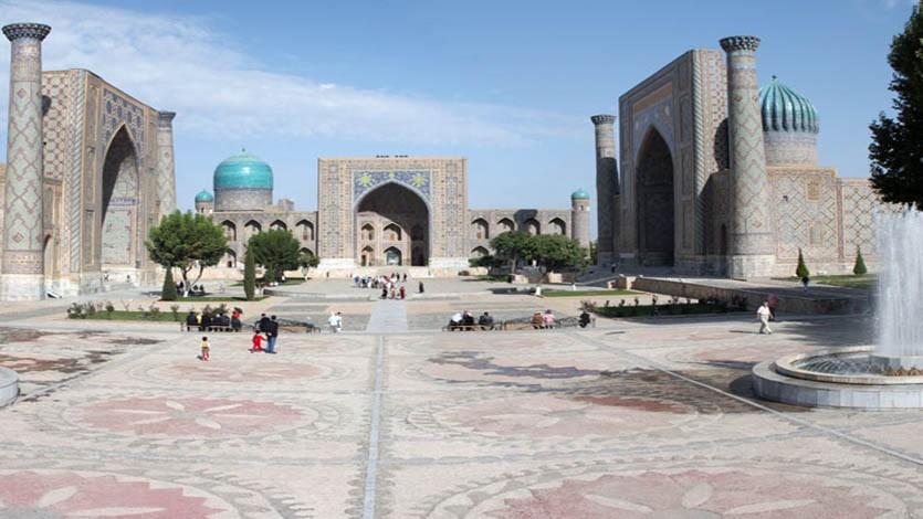 (192) زيارة إلى أوزبكستان والمشاركة في مؤتمر الإمام البخاري بسمرقند أكتوبر 1993م