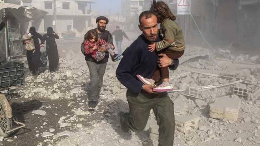 الاتحاد العالمي لعلماء المسلمين يعلن جمعة غضب لنجدة الغوطة الشرقية