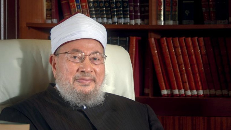 بيان حول رفع اسم سماحة الشيخ القرضاوي من قوائم الإنتربول