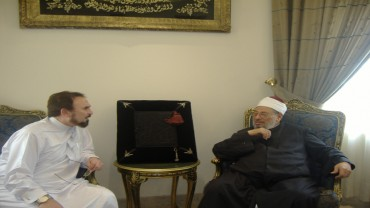 مع الممثل المصري وجدي العربي
