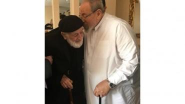 مع العالم التركي الشيخ أمين سراج