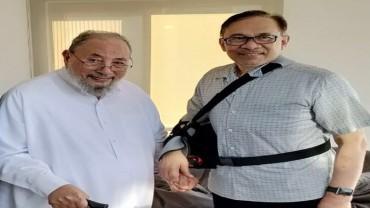 مع الأخ الكريم داتو سري أنور إبراهيم حفظه الله