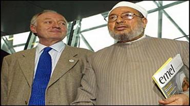 مع عمدة لندن كين ليفينغستون (2005)