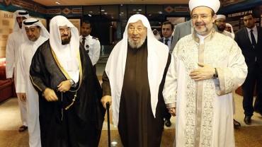 مع د.محمد غورماز رئيس الشؤون الدينية السابق في تركيا ود. علي القرة داغي الأمين العام لاتحاد العلماء