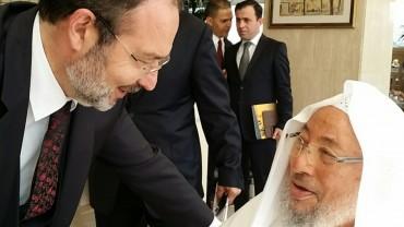 مع د.محمد غورماز رئيس الشؤون الدينية السابق في تركيا