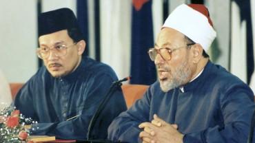 في ماليزيا مع السيد أنور إبراهيم النائب السابق لرئيس الوزراء