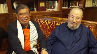 مع سعادة وزير الدفاع الماليزي محمد بن سابو