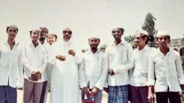 في الكلية الغفورية العربية في سريلانكا
